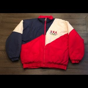 Vintage Starter Team USA Olympic Jacket